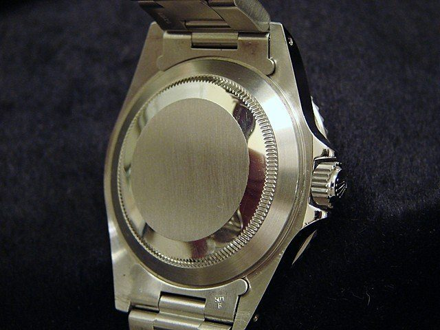 Rolex Mens Transparent Watch