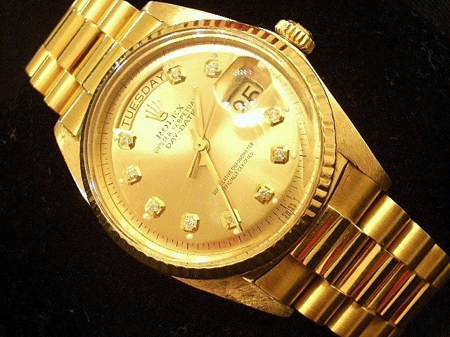 Men S Rolex Diamond Watches