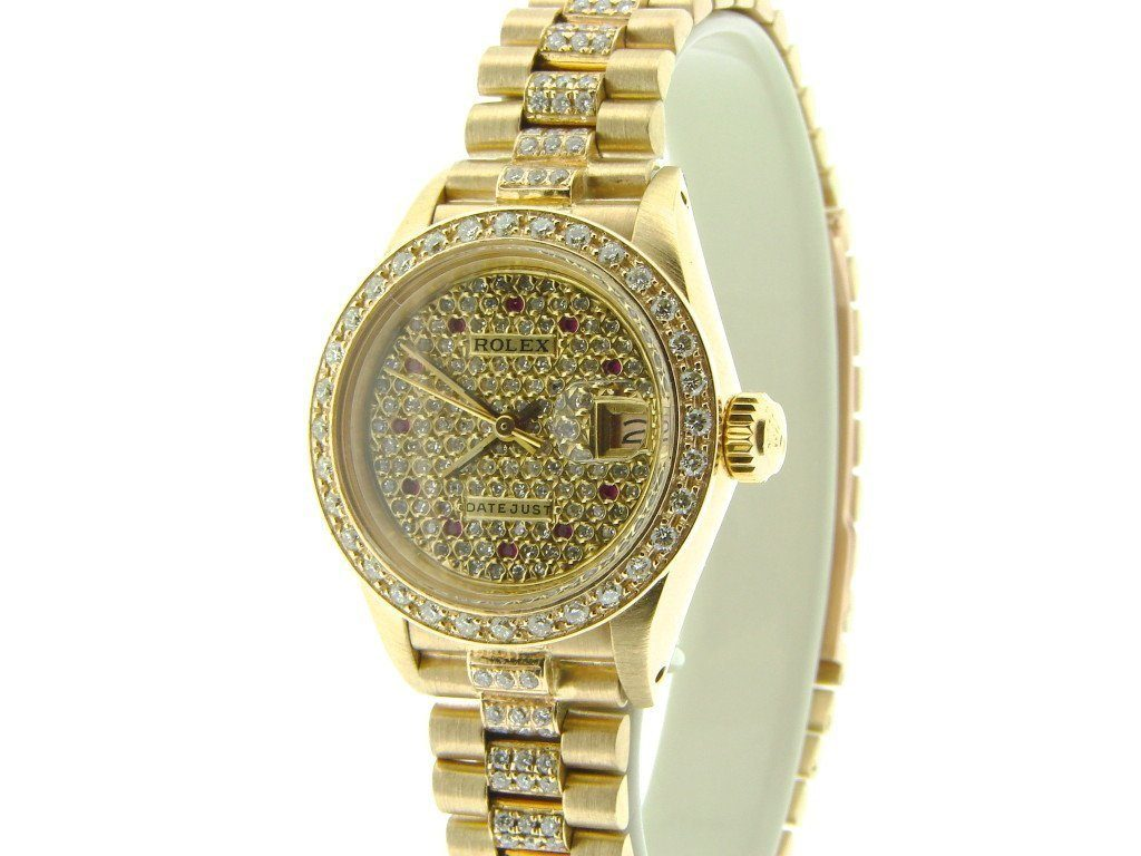 Rolex Ladies Gold Watches