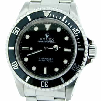 Mens Rolex Stainless Steel Submariner Black  14060M (SKU K731006MT)