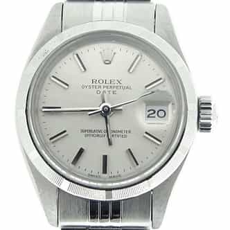 Ladies Rolex Stainless Steel Date Silver  6916 (SKU 3875930MT)