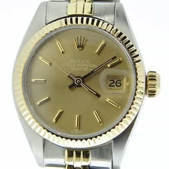 Ladies Rolex Two-Tone 14K/SS Date Bronze  6917 (SKU 5046425MT)