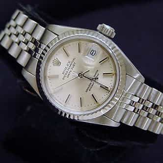 Ladies Rolex Stainless Steel Datejust Silver  69174 (SKU 8686085MT)