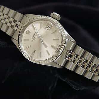 Ladies Rolex Stainless Steel Date Silver  6517 (SKU 1933274MT)