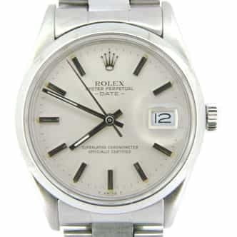 Mens Rolex Stainless Steel Date Silver  15000 (SKU 7488963MT)
