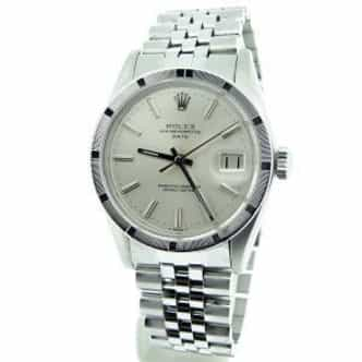 Mens Rolex Stainless Steel Date Silver  1501 (SKU 5192932MDMT)