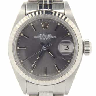 Ladies Rolex Stainless Steel Date Slate  6917 (SKU 3622694NMT)
