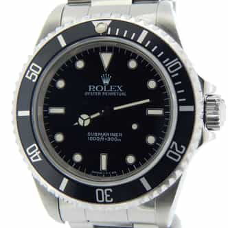 Mens Rolex Stainless Steel Submariner Black  14060 (SKU T470779NNCMT)