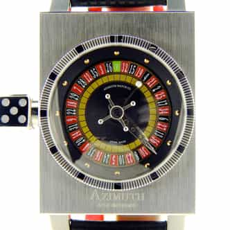 Mens Azimuth SP-1 Roulette Stainless Steel Watch (SKU AZIMUTHROUN)