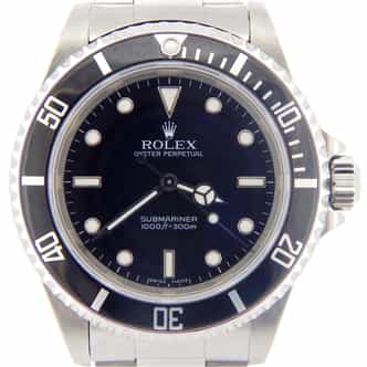 Mens Rolex Stainless Steel Submariner Black  14060M (SKU F726292MNNMT)