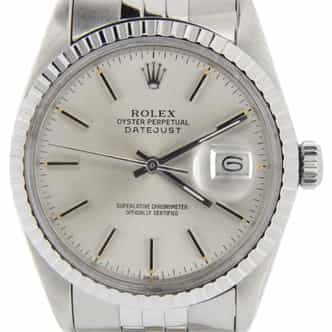 Mens Rolex Stainless Steel Datejust Silver 16030 (SKU 7113809MT)