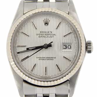 Mens Rolex Stainless Steel Datejust Silver  16014 (SKU 8188621NMT)