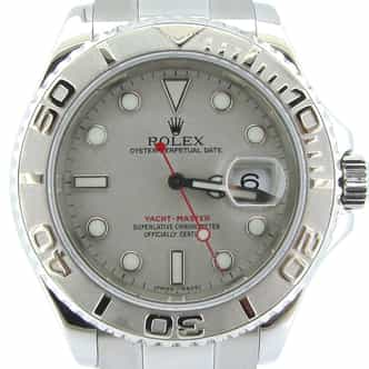 Mens Rolex Stainless Steel & Platinum Yacht-Master  16622 (SKU A894812NMT)