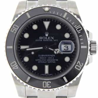 Mens Rolex Stainless Steel Submariner Black 116610 (SKU 9765411NNMT)