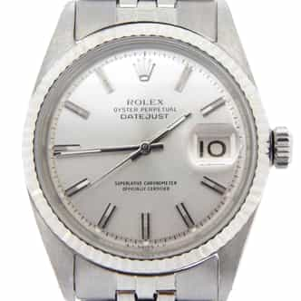 Mens Rolex Stainless Steel Datejust Silver  1601 (SKU 1465614MT)