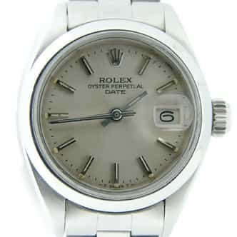 Ladies Rolex Stainless Steel Date Silver  6916 (SKU 3911137MT)