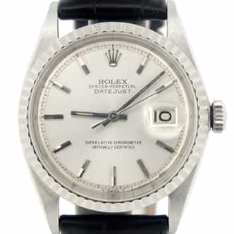 Mens Rolex Stainless Steel Datejust Silver  1603 (SKU 222315NCMT)