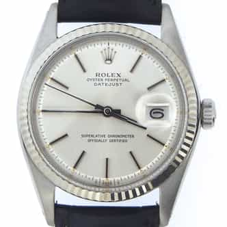 Mens Rolex Stainless Steel Datejust Silver  1601 (SKU 2191895BMT)