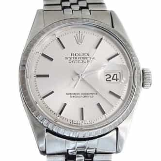 Mens Rolex Stainless Steel Datejust Silver  1603 (SKU 1961438MT)