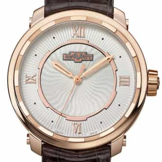 "Mens DeWitt ""Twenty-8 Eight"" 18k Rose Gold Limited Edition (SKU DEWITTTWENTWHITED)"