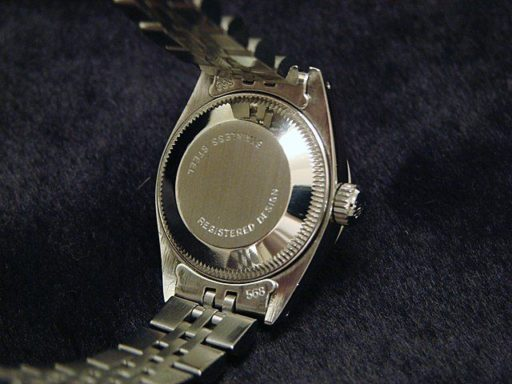 Rolex Stainless Steel Datejust 6917 Tahitian MOP Diamond-1