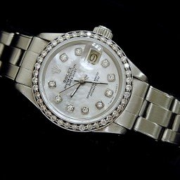 Ladies Rolex Stainless Steel Datejust White MOP Diamond (SKU 5756721DMT)