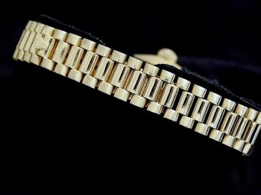 Rolex Yellow Gold Date President Diamond 6917 Champagne-1