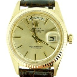 Mens Rolex 18K Gold Day-Date President Champagne  1803 (SKU 1588194MT)