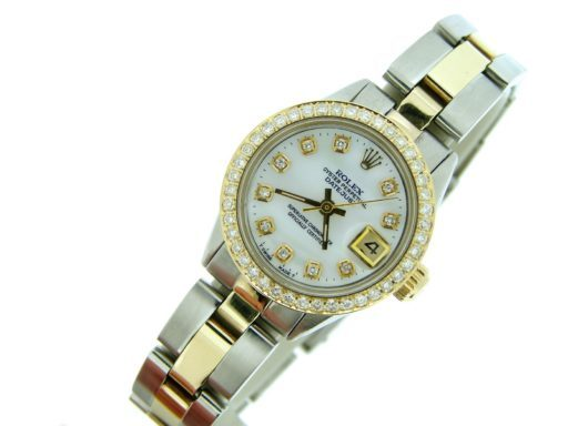 Rolex Two-Tone Datejust 6517 White MOP Diamond-5