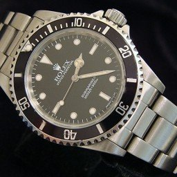 Mens Rolex Stainless Steel Submariner Black  14060 (SKU U632070NNBCMT)