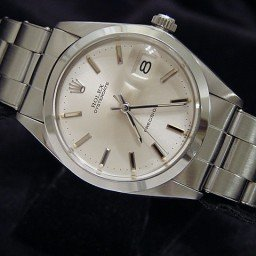 Mens Rolex Stainless Steel Oysterdate Silver  6694
