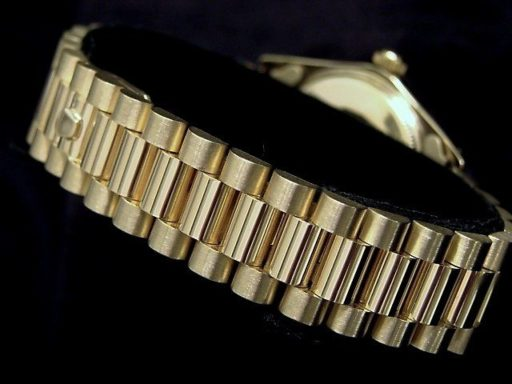 Rolex 14K Yellow Gold Date 1503 Black -2