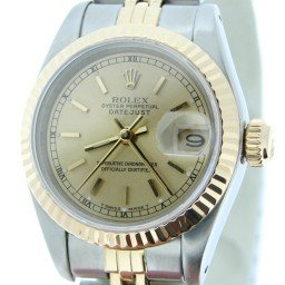 Ladies Rolex Two-Tone 18K/SS Datejust Champagne  69173 (SKU 8911456MT)