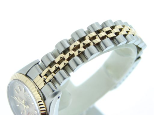 Rolex Two-Tone Datejust 69173 Champagne -3