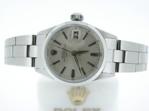 Rolex Stainless Steel Date 6516 Silver -4
