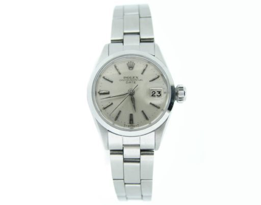 Rolex Stainless Steel Date 6516 Silver -6