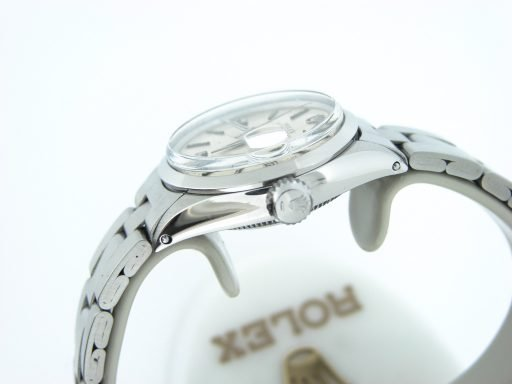 Rolex Stainless Steel Date 6516 Silver -3
