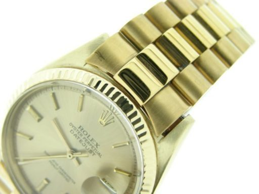 Rolex 18K Yellow Gold Datejust 1601 Champagne -3