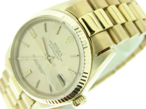 Rolex 18K Yellow Gold Datejust 1601 Champagne -2