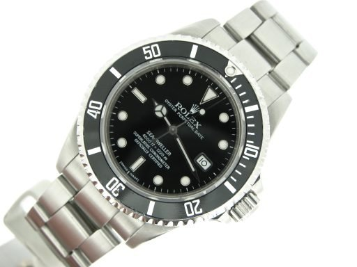 Rolex Stainless Steel Sea-Dweller 16600 Black -7