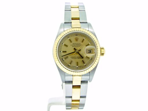 Rolex Two-Tone Datejust 79173 Champagne -5