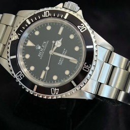 Mens Rolex Stainless Steel Submariner Black  14060 (SKU N345779ACMT)