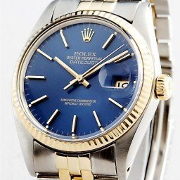 Mens Rolex Two-Tone 18K/SS Datejust Blue  16013 (SKU 8881511MT)