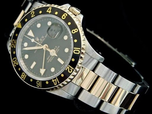 Rolex Two-Tone GMT Master II 16713 Black -3