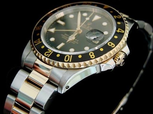 Rolex Two-Tone GMT Master II 16713 Black -2