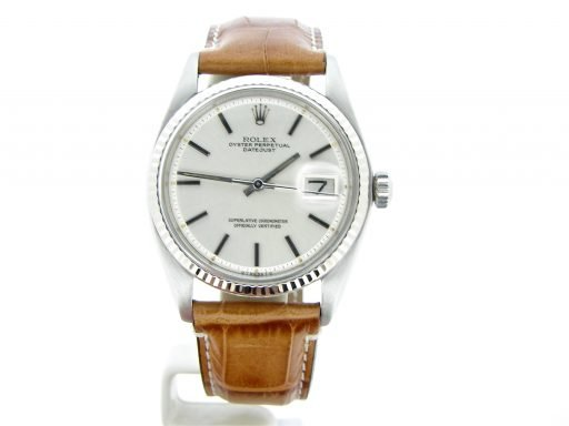 Rolex Stainless Steel Datejust 1601 Silver -7