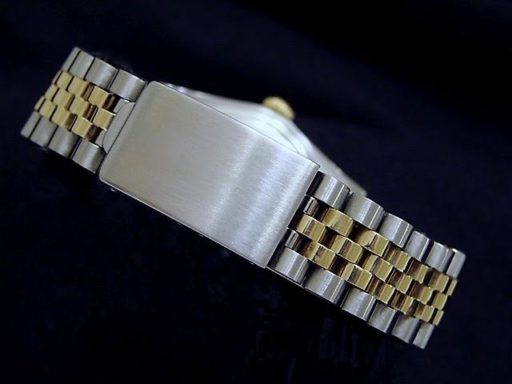 Rolex Two-Tone Datejust 1601 Diamond Champagne-1