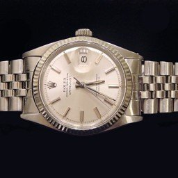 Mens Rolex Stainless Steel Datejust Silver  1601 (SKU 5611111BCMT)