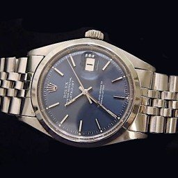 Mens Rolex Stainless Steel Datejust Blue  1603 (SKU 5681111MT)