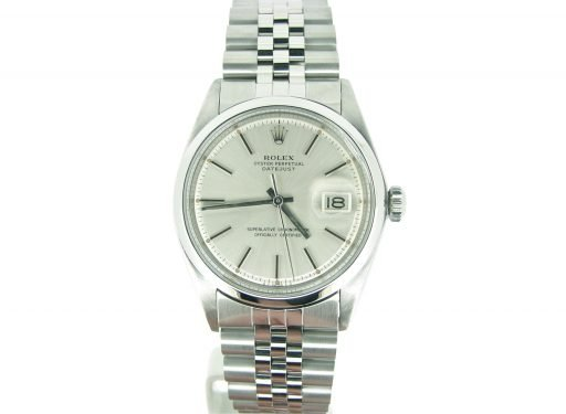 Rolex Stainless Steel Datejust 1603 Silver -5